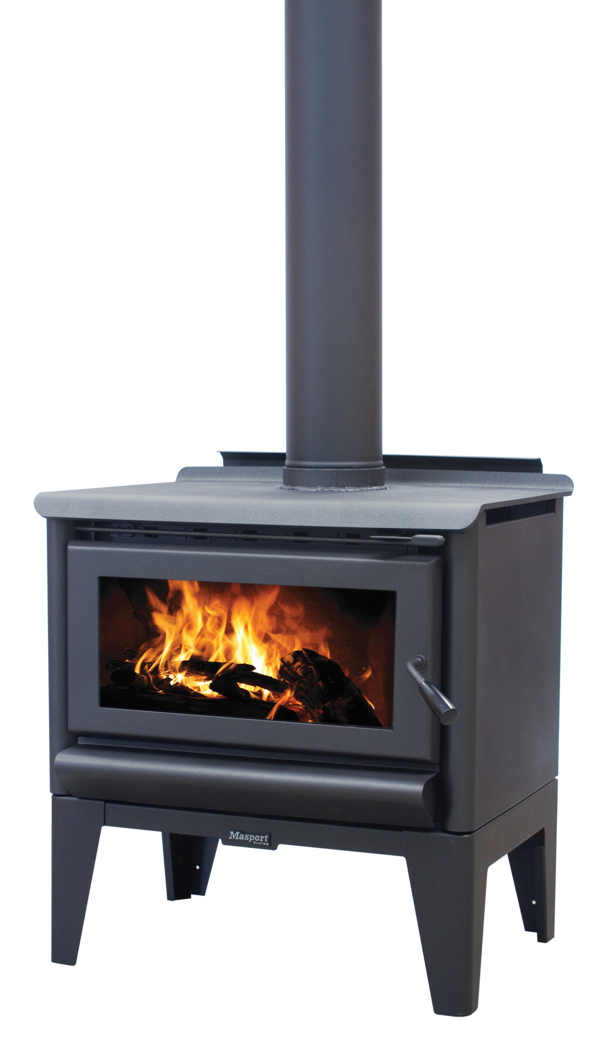 MASPORT R5000 – Freestanding Radiant Wood Burner With Legs