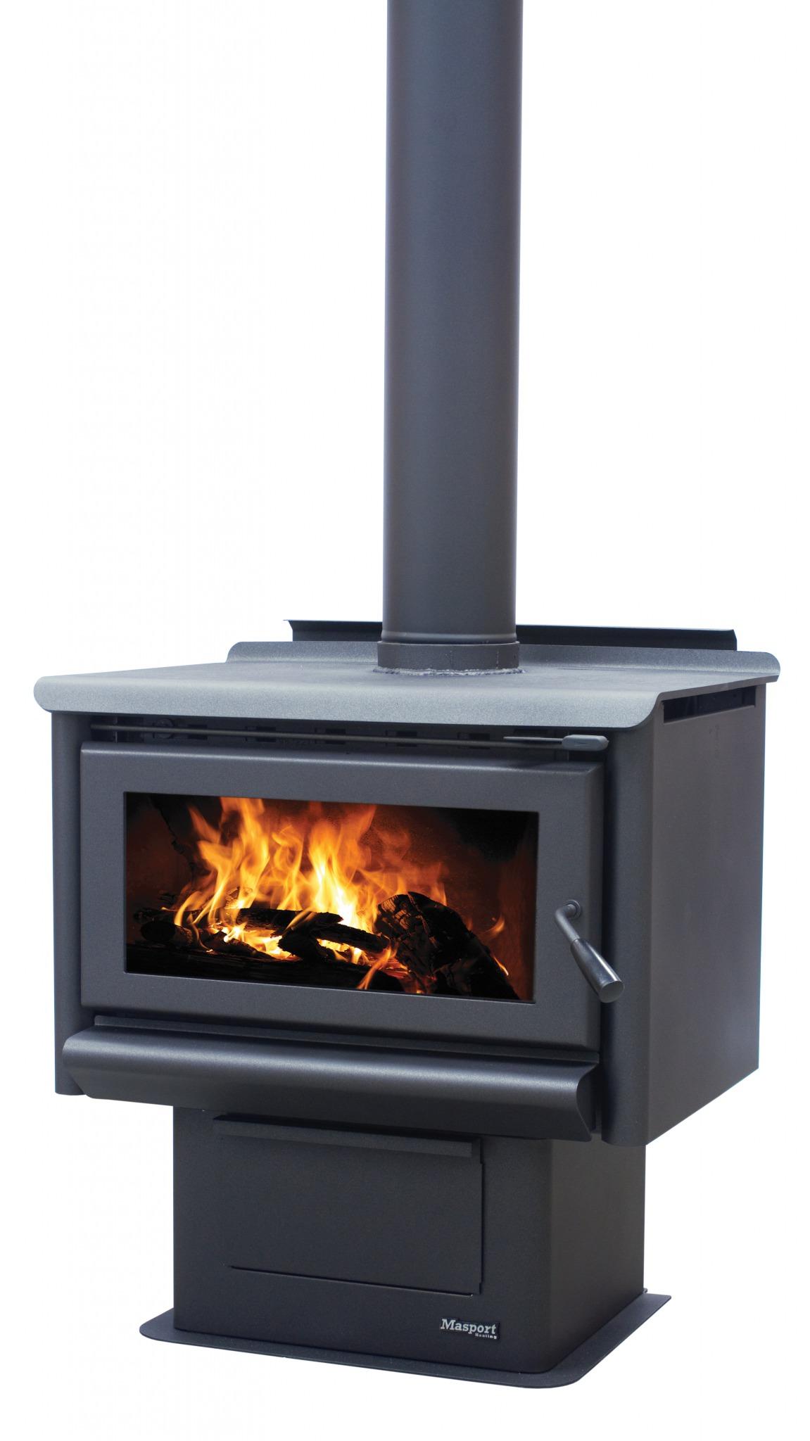 MASPORT R5000 – Freestanding Radiant Wood Burner With Ash Pan