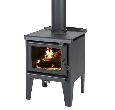 MASPORT R3000 – Freestanding Radiant Wood Burner With Legs