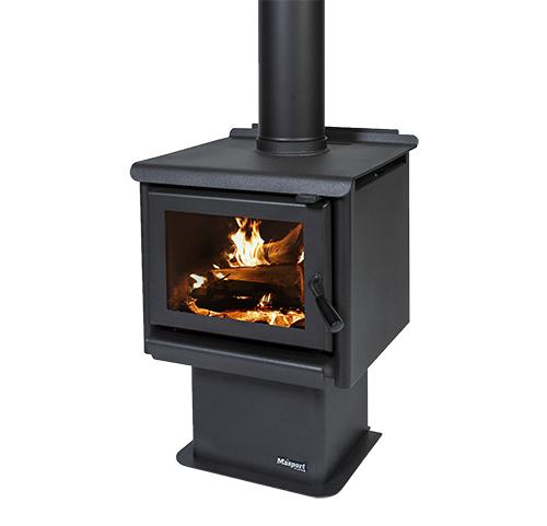 MASPORT R1200 – Freestanding Radiant Wood Burner